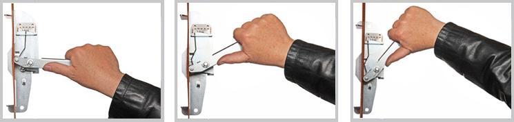 Sträckindikator mäta spännband spänning