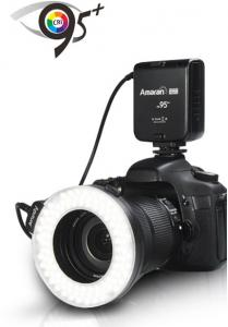 APUTURE AMARAN HALO LED HC100 CANON