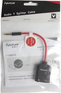 APUTURE AUDIO Y SPLITTER CABLE