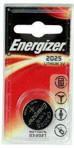 ENERGIZER LITHIUM CR2025 3V