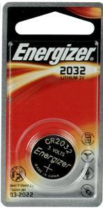 ENERGIZER LITHIUM CR2032 3V