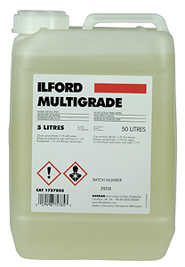 DUNK ILFORD MULTIGRADE FRAMKALLARE 5 LITER