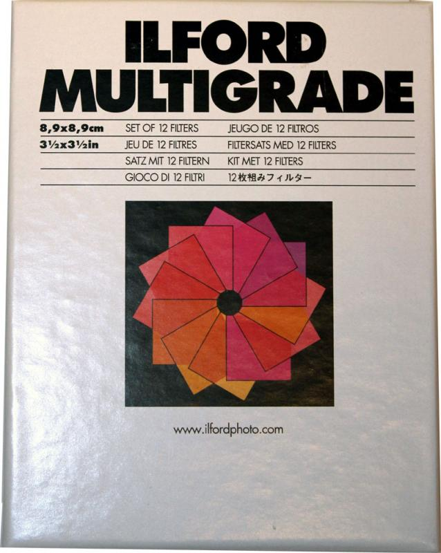 ILFORD MULTIGRADE FILTER-SET 9X9CM