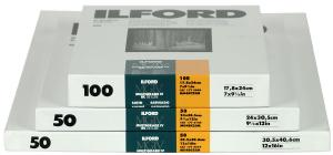 ILFORD MULTIGRADE 4 RC 25M 9X13CM 100 BLAD