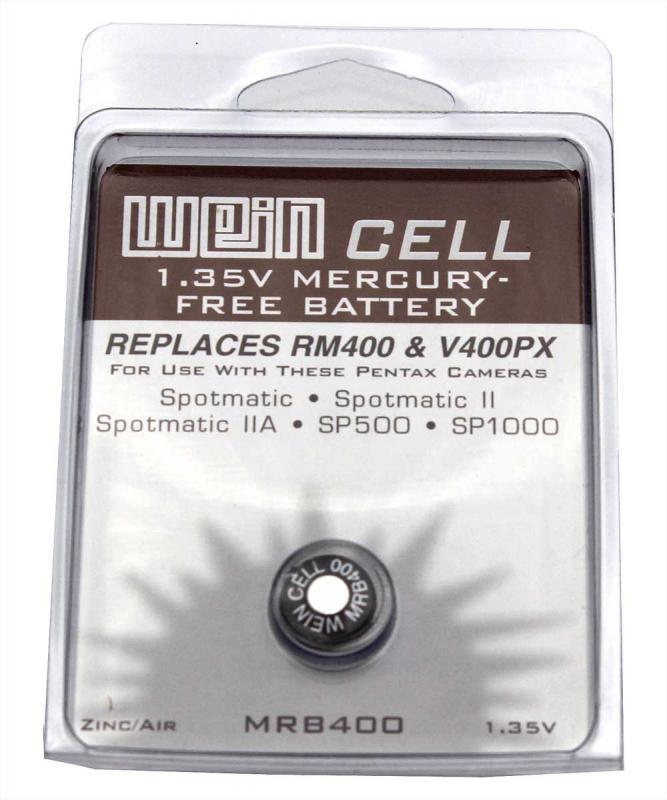WEIN CELL ZINK-LUFT BATTERI MRB 400 1,35V