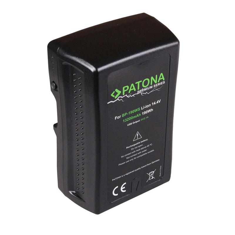 PATONA V-MOUNT BATTERI BP-190W 13200MAH 14,4V