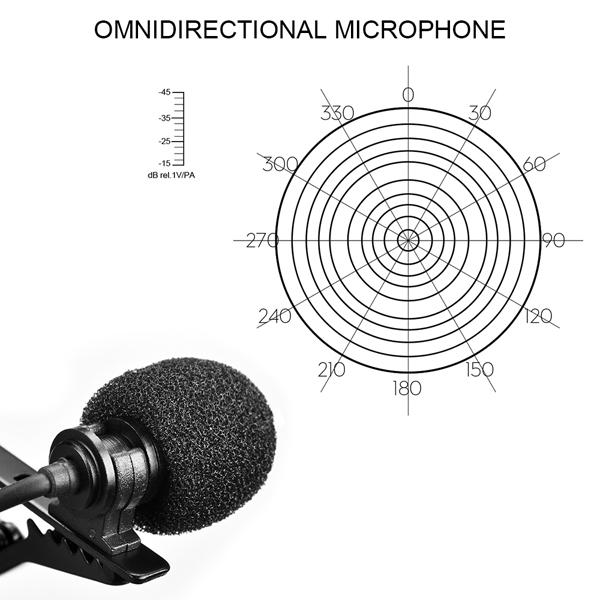 COMICA CVM-V01SP LAVALIER MIKROFON FÖR SMARTPHONE