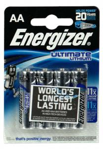 ENERGIZER ULTIMATE LITHIUM AA 4-PACK