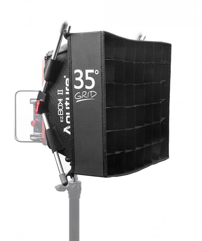 APUTURE AMARAN EZ BOX II + GRID 35