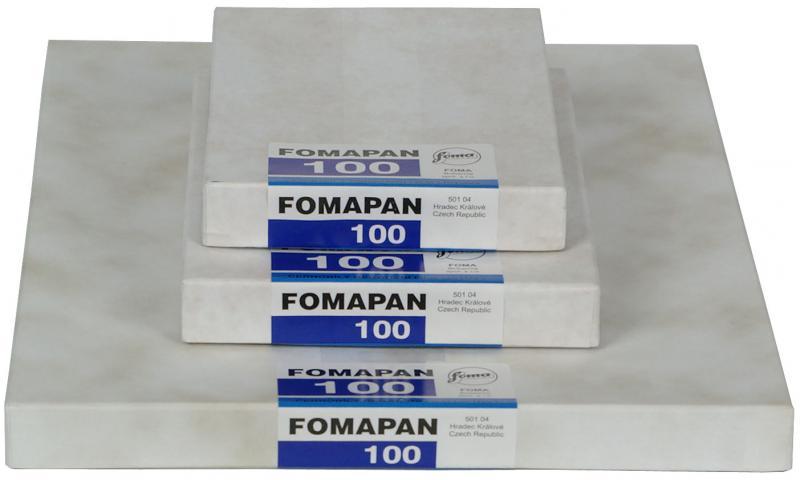 FOMAPAN 100 4X5  50-BLAD