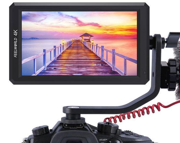 "FEELWORLD F6 LCD MONITOR 5,7"" HD 4K 1920x1080"
