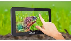 "FEELWORLD F6 PLUS LCD MONITOR 5,5"" HD 4K 1920x1080"