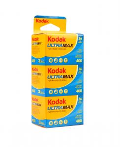KODAK ULTRA MAX 400 135-36 3-PACK