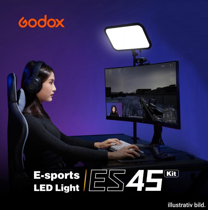 GODOX ES45 E-SPORT LED LIGHT KIT