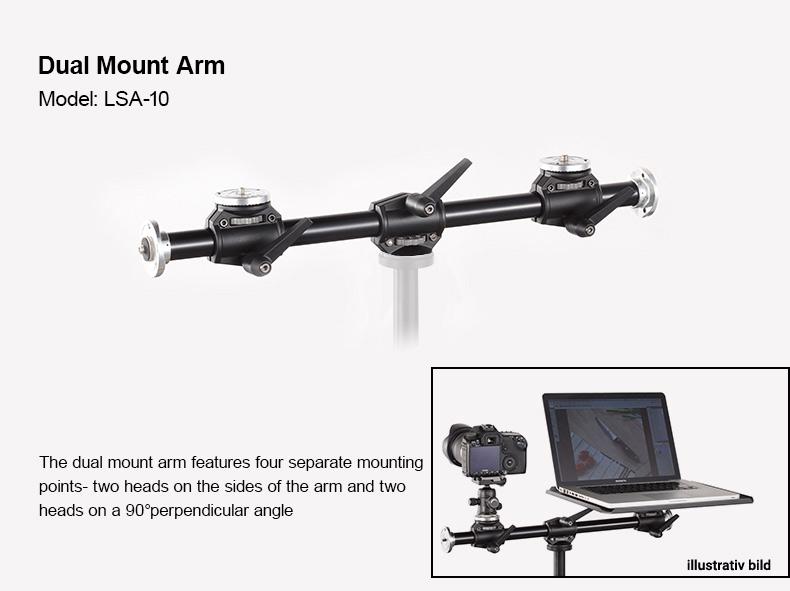 GODOX LSA-10 DUAL MOUNT ARM