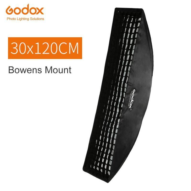 GODOX SOFTBOX 30X120CM MED RASTER BOWENS-S