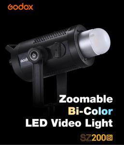 GODOX SZ200BI LED VIDEO LIGHT ZOOM BI-COLOR