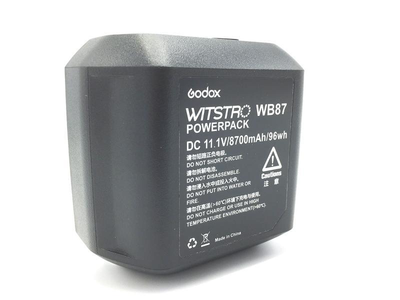 GODOX WB87 LITHIUM BATTERI FÖR AD600/SLB60W