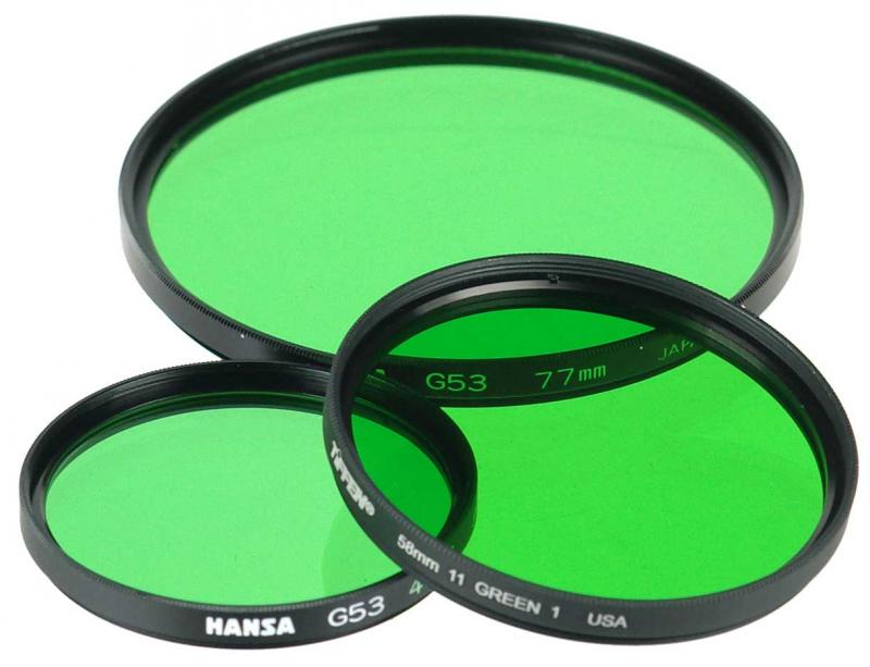 72MM HANSA GRÖN-FILTER #11