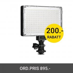 GVM 10S LED VIDEO LIGHT 2000K-5600K
