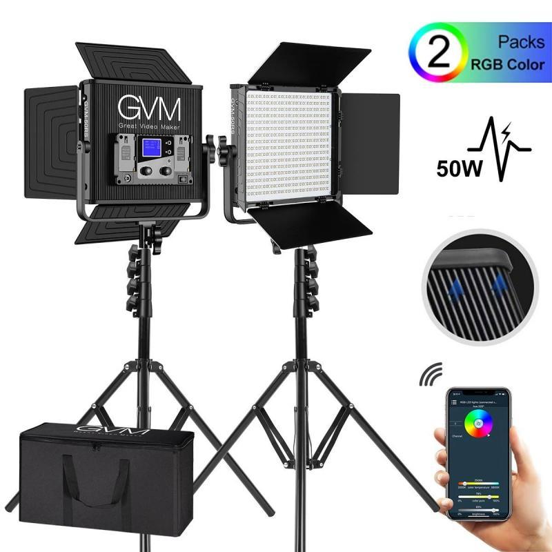 GVM 50RS RGB LED PANEL 2X KIT