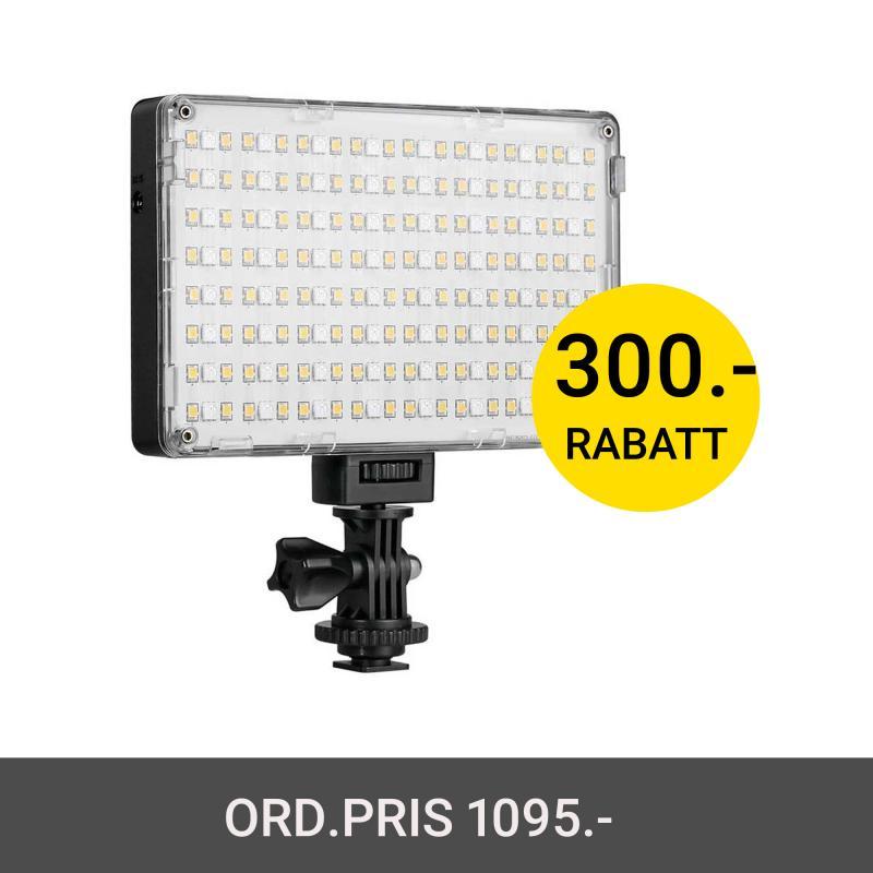 GVM 10S RGB LED VIDEO LIGHT 3200K-5600K WIFI