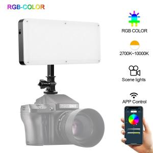 GVM 20S RGB LED VIDEO LIGHT 2700K-10000K BT