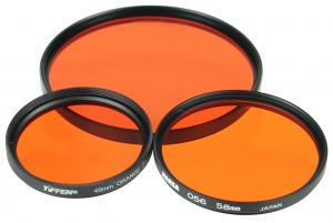 49MM TIFFEN ORANGE FILTER #21