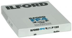 ILFORD FP4 4X5  25-BLAD