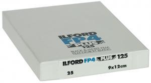 ILFORD FP4 9X12CM 25-BLAD