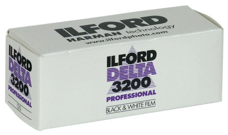 1ST ILFORD DELTA 3200 120