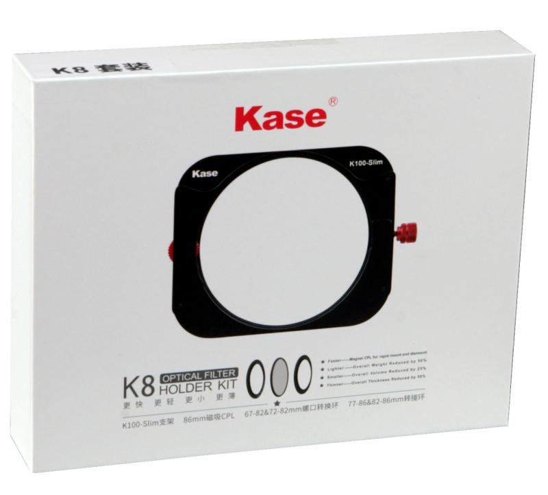 KASE K8 SLIM FILTERHÅLLARE KIT 100MM