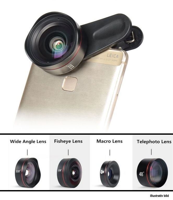 KASE PRO MOBILE PHONE LENS KIT 4 IN 1