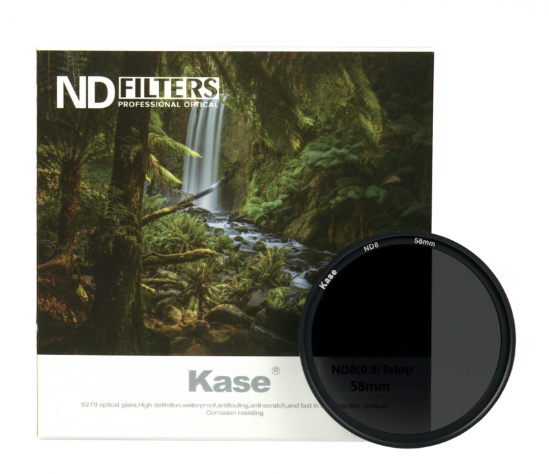 KASE ND 8 NANO SLIM 55MM