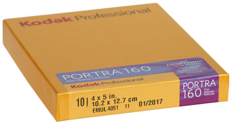 10 BLAD KODAK PORTRA 160 4X5