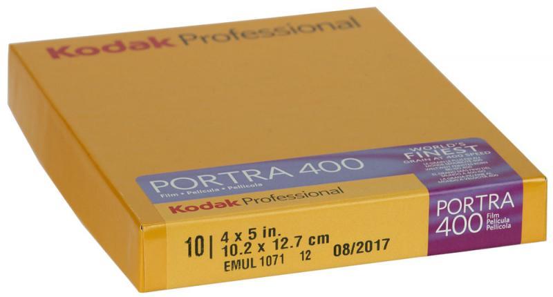 """10 BLAD KODAK PORTRA 400  4X5"""""""