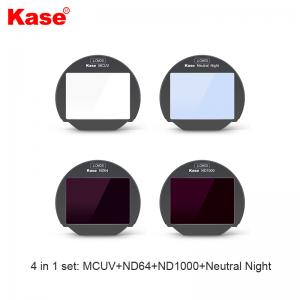 KASE CLIP-IN FILTER SET MCUV/NN/64/1000 FUJI X-T