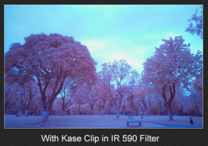 KASE CLIP-IN FILTER IR590 SONY A7/A9