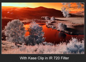 KASE CLIP-IN FILTER IR720 SONY A7/A9