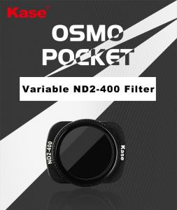 KASE DJI OSMO POCKET VARIABLE ND 2-400