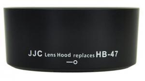 JJC MOTLJUSSKYDD LH-47 HB-47 NIKON 50MM F/1,4 1,8G
