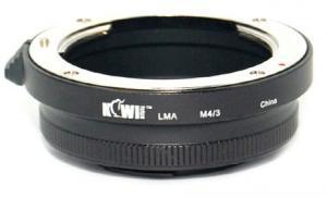 KIWI FOTOS ADAPTER CANON EF TILL MICRO 4/3