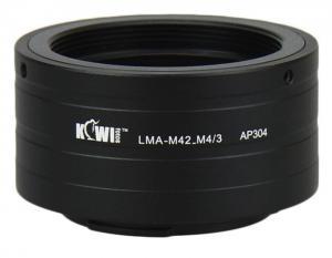 KIWI FOTOS M42 ADAPTER FÖR MICRO 4/3 KAMERAHUS