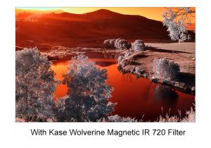 KASE WOLVERINE MAGNETIC IR720 & ADAPTER 82MM