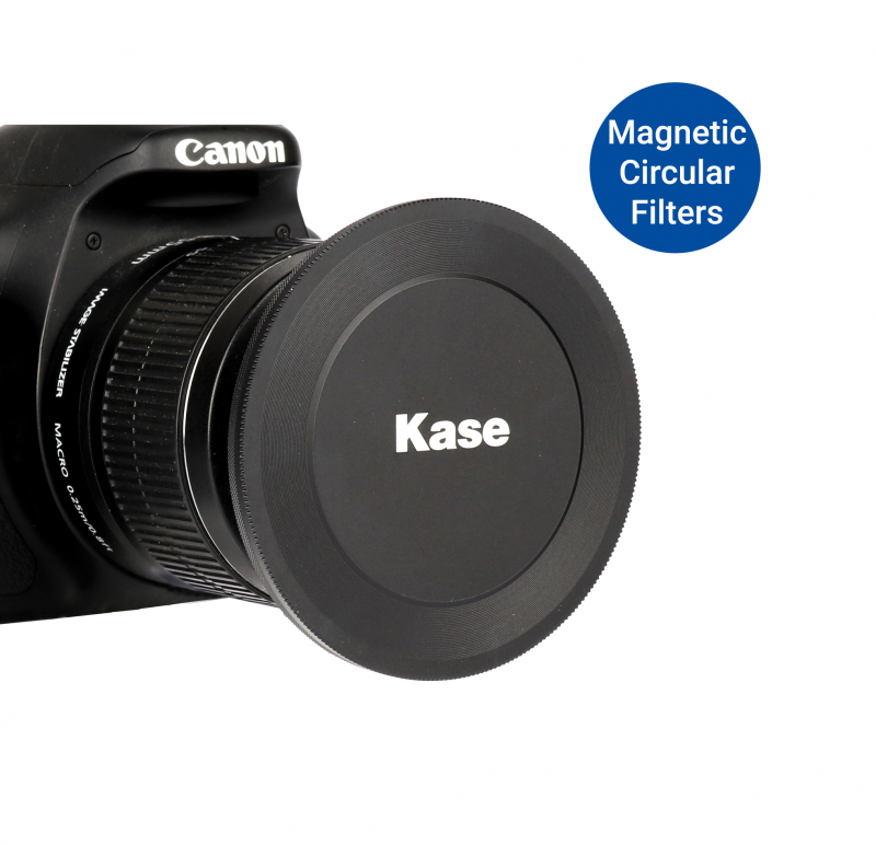 KASE MAGNETIC LENS CAP 77MM