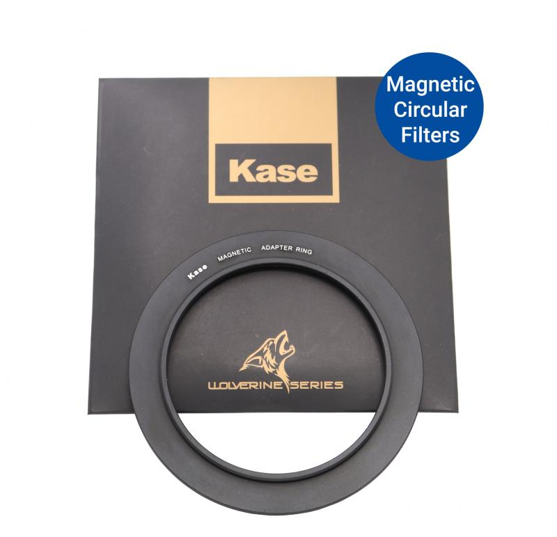 KASE MAGNETIC STEP-UP RING 58 - 82MM