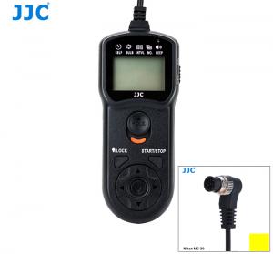JJC TM LCD TRÅDUTLÖSARE & TIMER ERS.NIKON MC-36