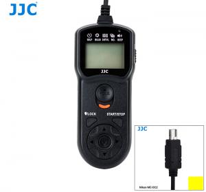 JJC TM LCD TRÅDUTLÖSARE & TIMER ERS.NIKON MC-DC2