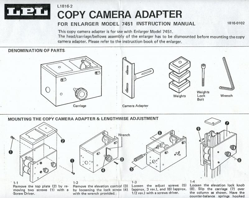 LPL (4X5) REPRO-ADAPTER