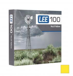 LEE 100X100 2MM YELLOW 8